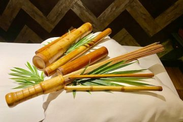 Health benefits of a bamboo massage at the Marina Bay Spa in Manila