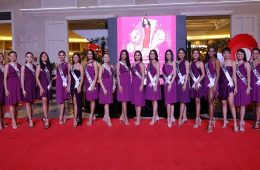 Newport Mall Miss Universe Philippines candidates at the launch of RWM_s Women's Month celebration