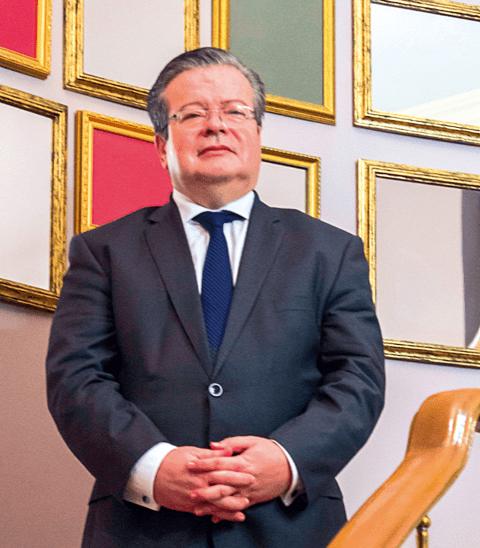 Ambassador Nicolas Galey of France