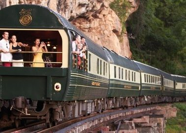 Luxury train from Bangkok to Singapore