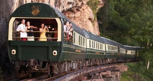 Luxury train from Bangkok to Singapore