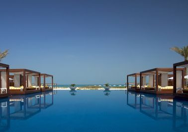 Abu Dhabi swimming pool