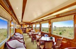 The Blue Train of South Africa