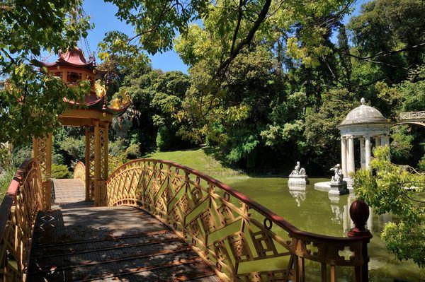 The romantic 19th century Villa Durazzo Pallavicini of Genova is now open to visitors.