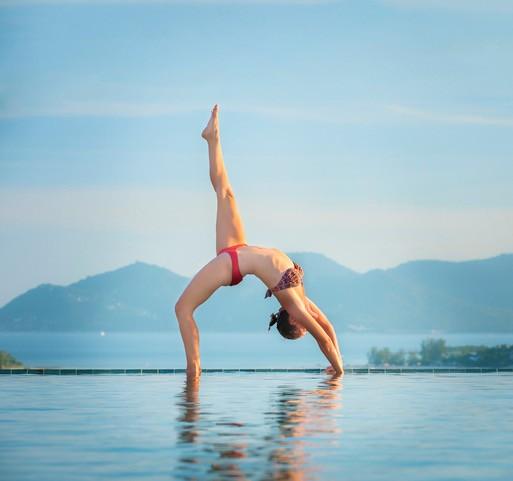 Yoga at Samujana Villa in Thailand