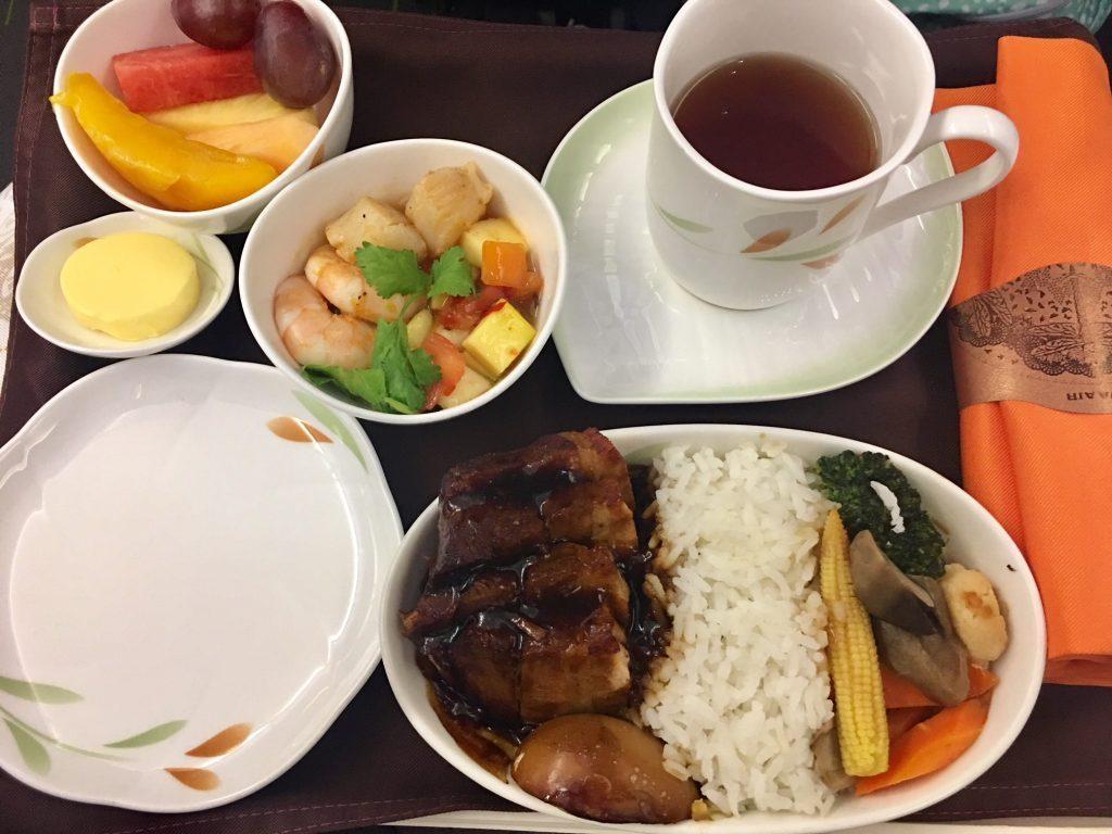 Best Inflight meals on Eva Air