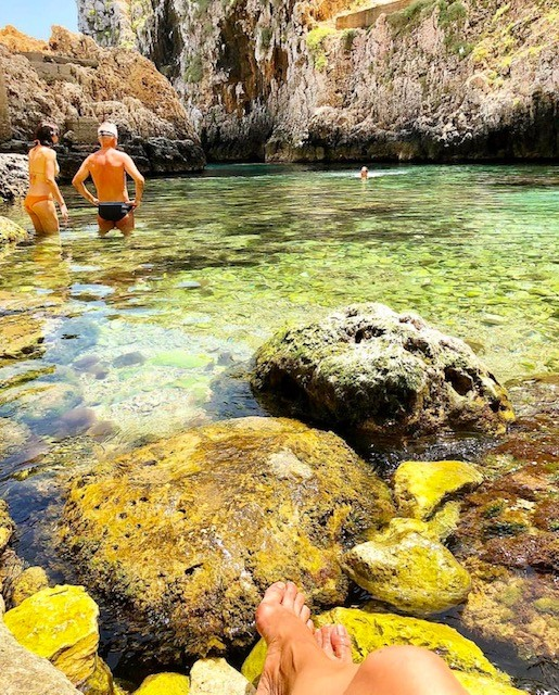 The best swimming spots in Salerno, Italy