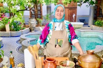 Cooking lessons at the Palais Amani in Fes