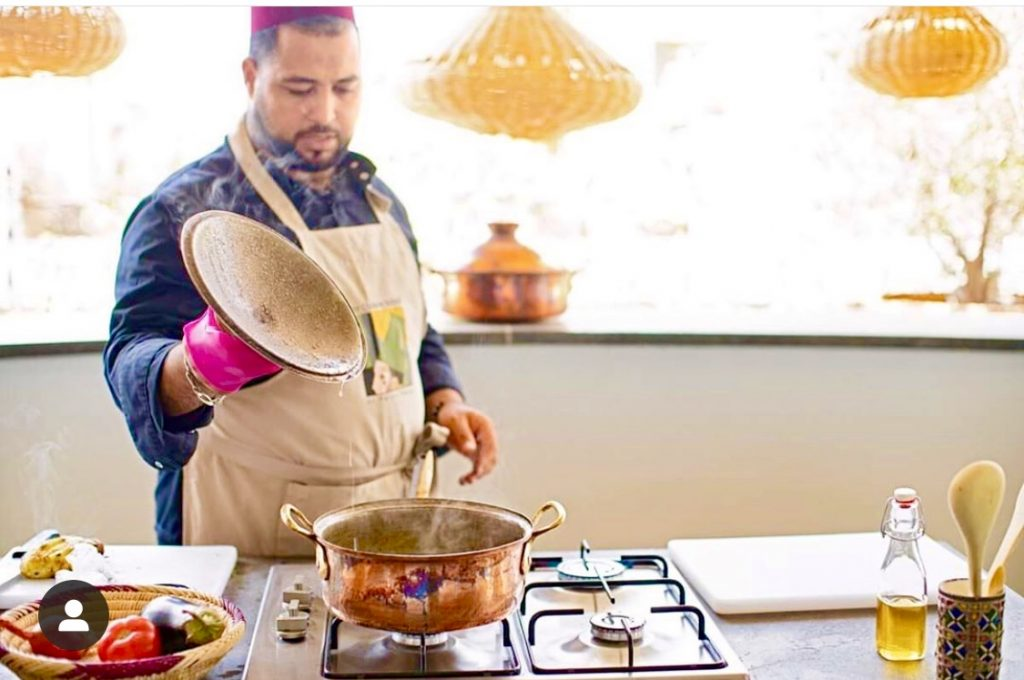 Cooking lessons in Morocco at the Palais Amani in Fes