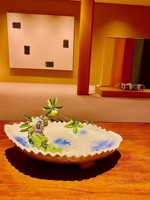 The works of Lee Yufan at Asaba Ryokan in Shuzenji