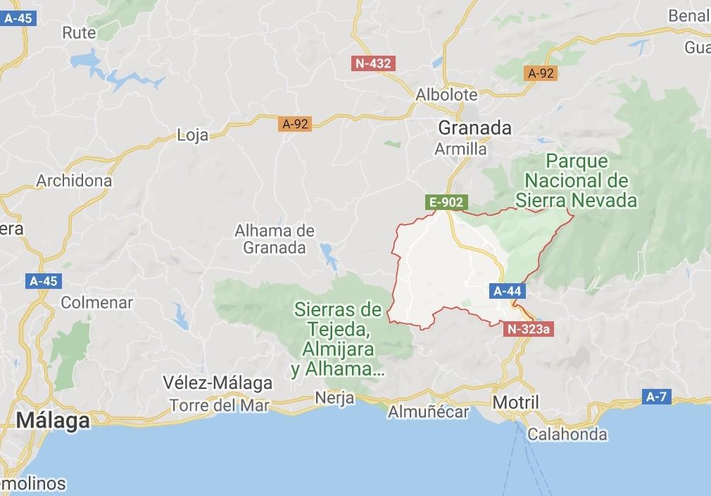 How to get to La Esperanza hotel and villa in the Lecrin Valley of Granada