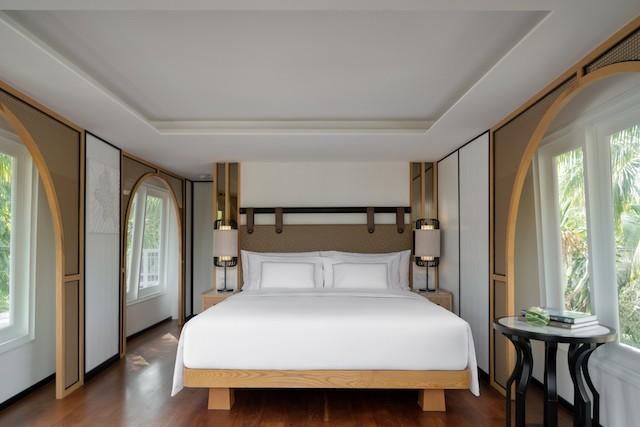 Bedroom of Melia Koh Samui suite