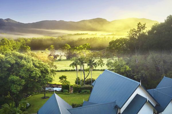 The Hermes Estate near Bellingen, often called the most beautiful town in Australia, is a luxury villa for hire with a private concierge team.