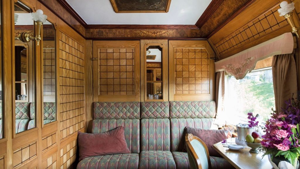 Traveling by train from Bangkok to Singapore on the Eastern & Oriental Express of Belmond.