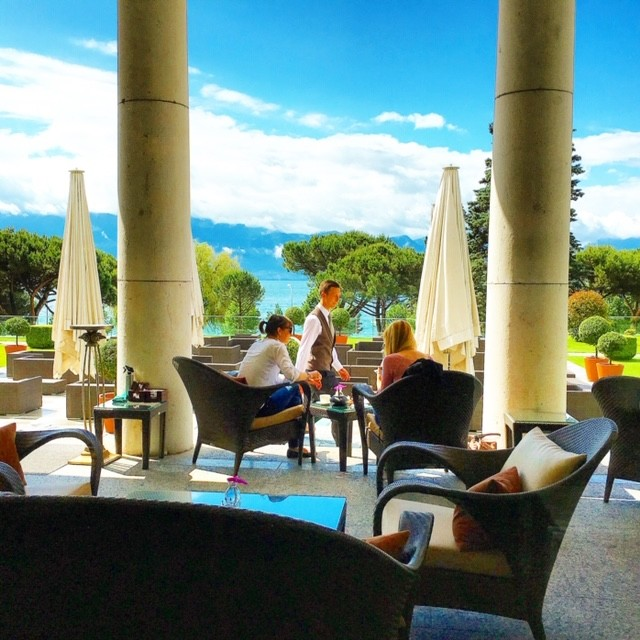 Beau Rivage Palace in Lausanne is one of the best hotels in Switzerland