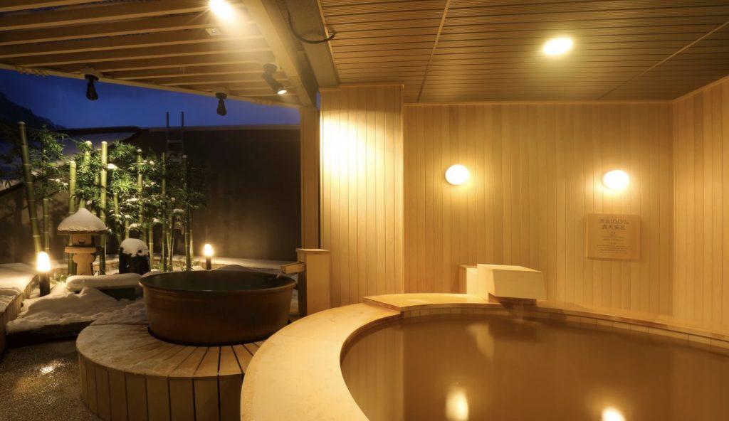 Hot springs at Kiroro Onsen