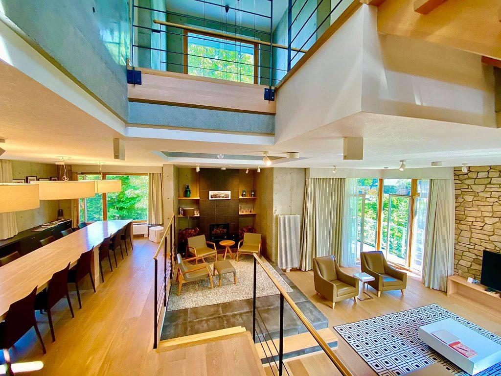 The Mizunara Villa in Niseko, run by Elite Havens in Hokkaido