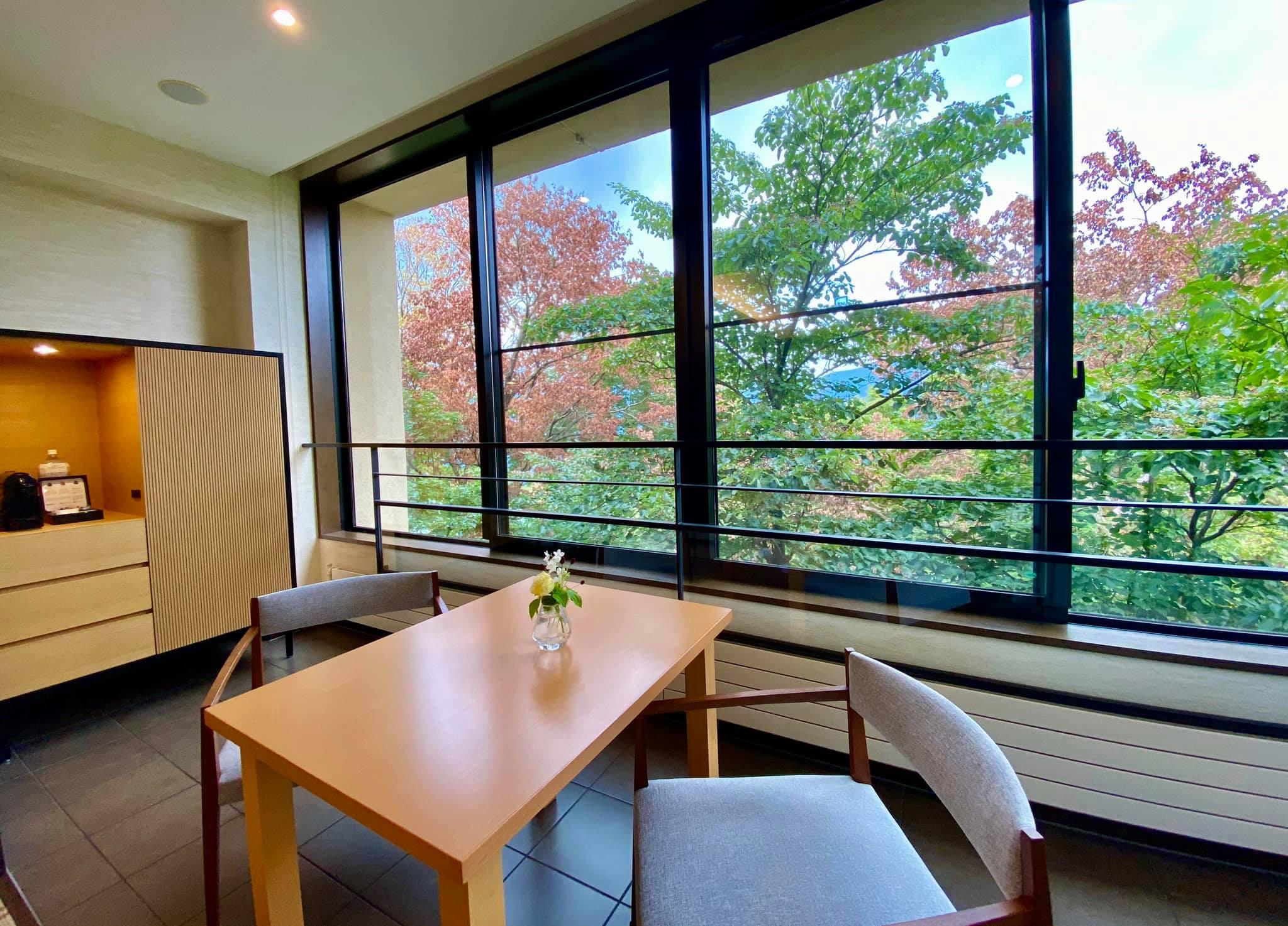 Suite at the Hyatt Regency Hakone in Japan