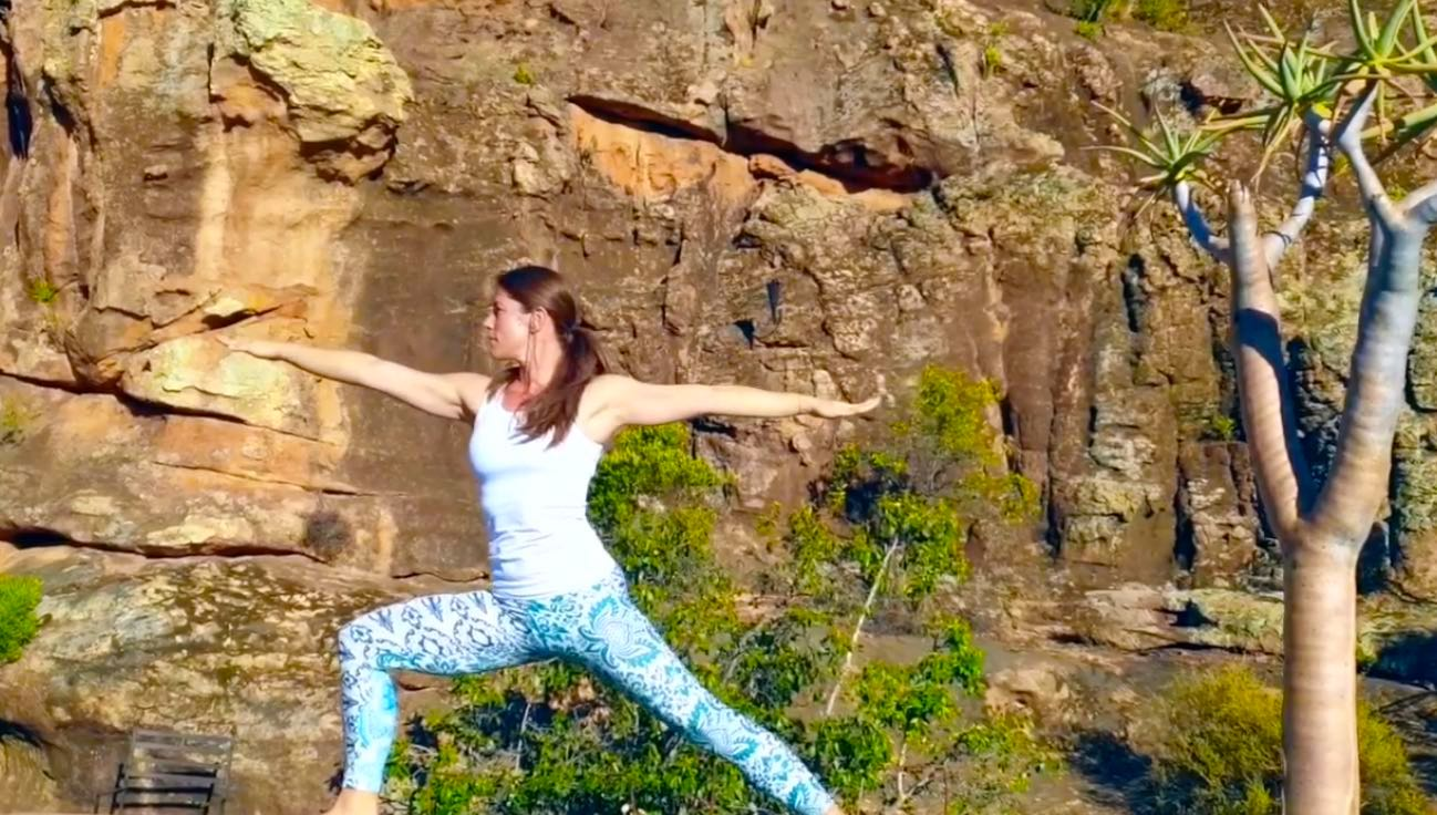Yoga at Bushman's Kloof in South Africa