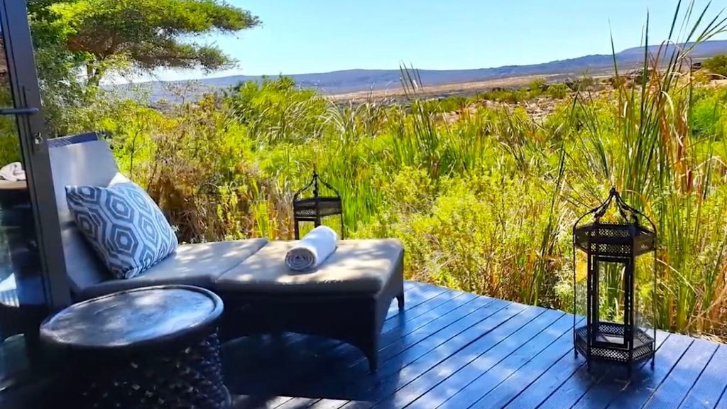 The award-winning spa of Bushman's Kloof in South Africa
