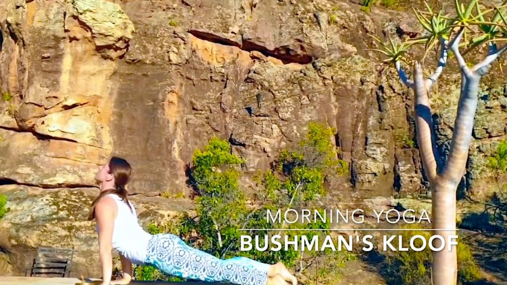 Yoga and a wellness retreat at Bushman's Kloof in the Cederberg Mountains of South Africa