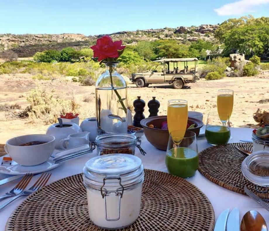 Breakfast at Bushman's Kloof