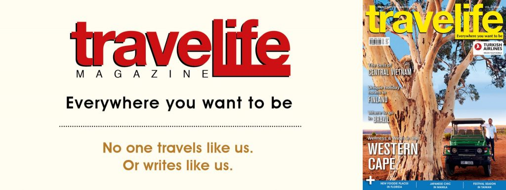 Travelife Magazine in Bushman's Kloof in the Cederberg Mountains of South Africa.
