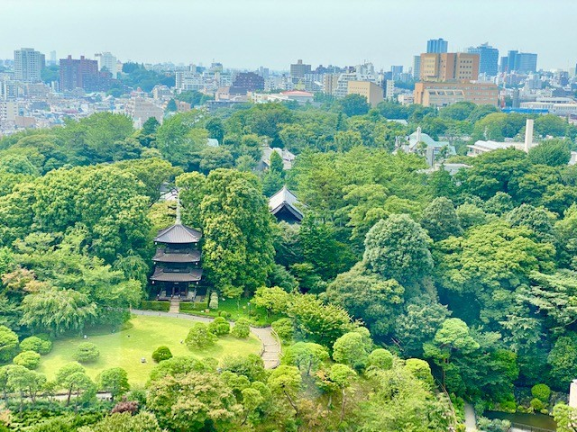The garden of the Hotel Chinzanso in Tokyo, a member of Preferred Hotels