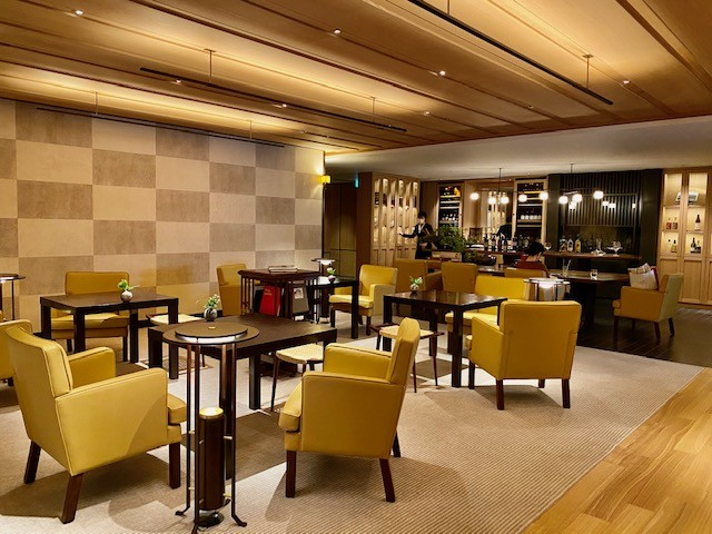 Afternoon tea at the lobby lounge of the Park Hyatt Kyoto in Japan