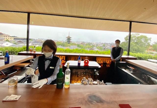 Kohaku at the Park Hyatt Kyoto is the best bar in Kyoto