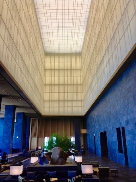 Aman Tokyo is the best hotel in Tokyo