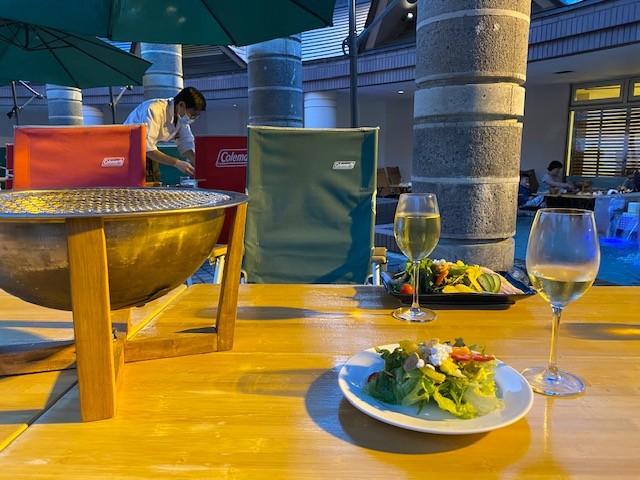 Barbecue dinner at The Kiroro Tribute Portfolio Hotel in Hokkaido