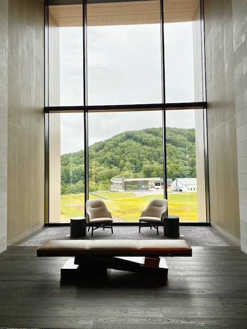 The architecture & design of the Park Hyatt Niseko Hanazono in Hokkaido