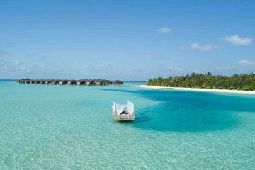 Anantara Dhigu Maldives Resort Floating Spa Platform