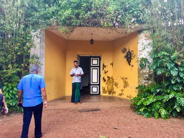 The Brief, home of Bevis Bawa in Sri Lanka