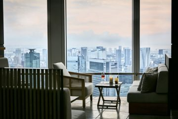 Travelife Magazine features the rooftop bar of the Andaz Tokyo