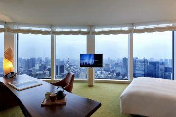 Hotel room of Andaz Tokyo