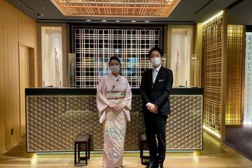 Some of the Ritz Carlton Kyoto team