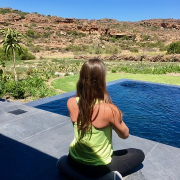 Yoga at Bushman's Kloof