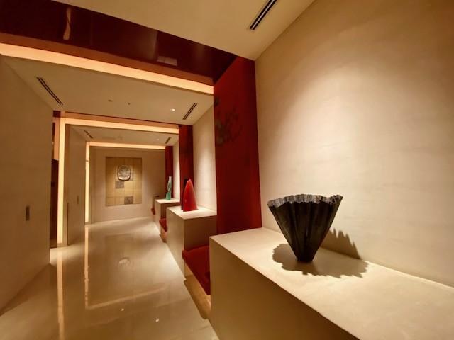 The corridors of The Peninsula Tokyo