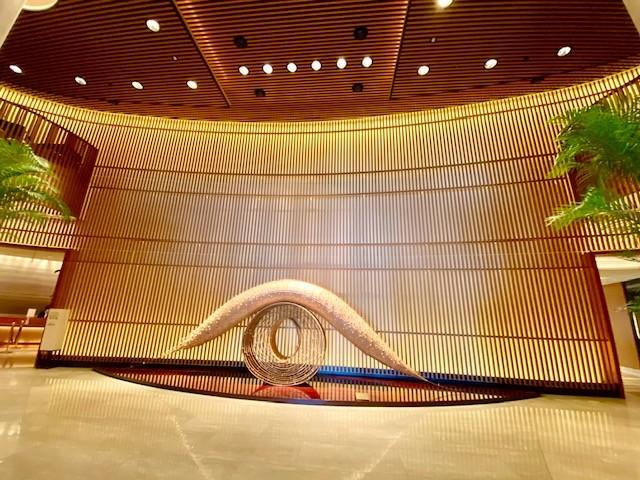 Lobby of The Peninsula Tokyo