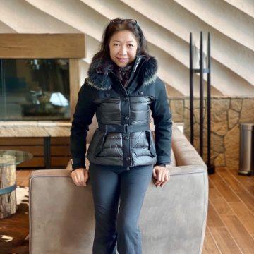 Travelife Magazine Publisher Christine Cunanan in Niseko