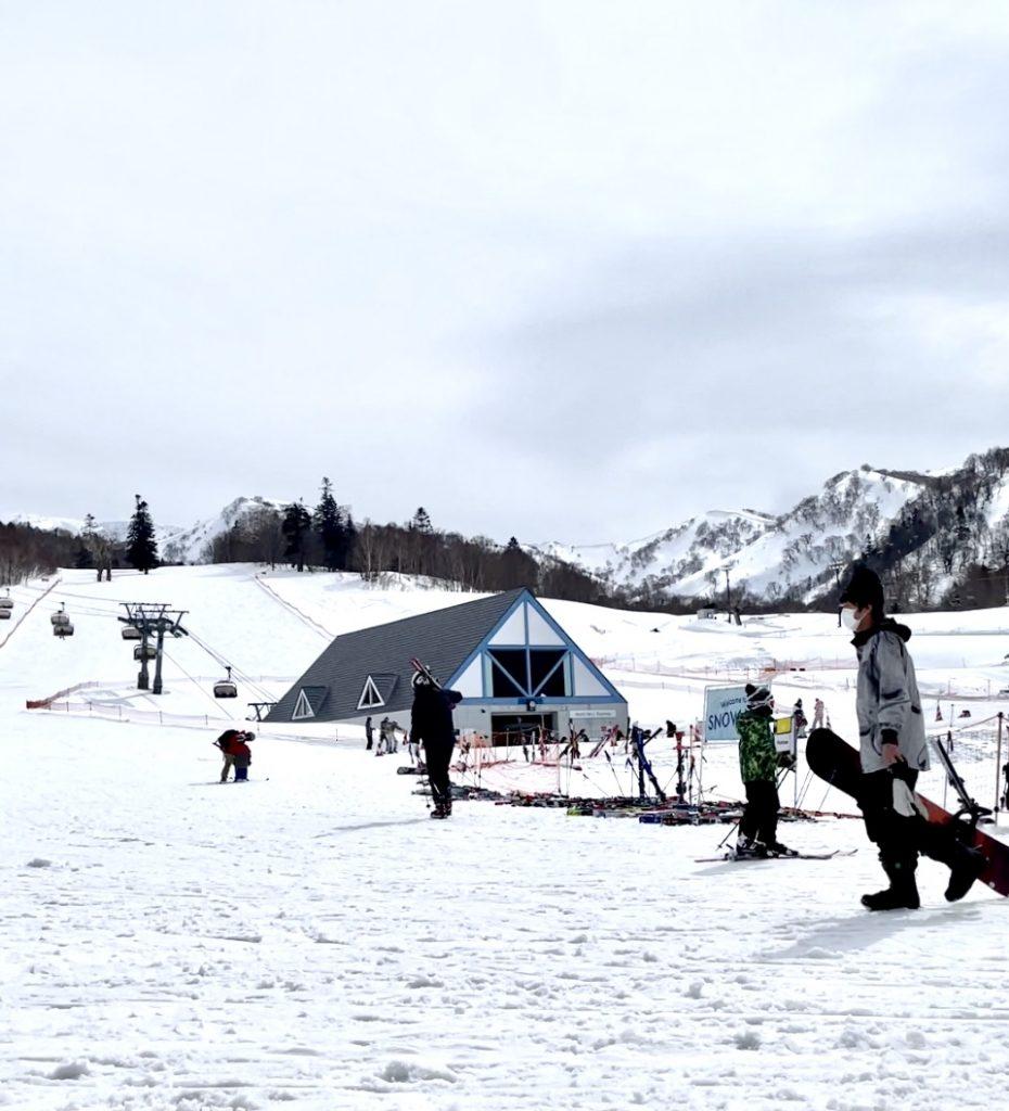 The ski slopes of The Kiroro Resort