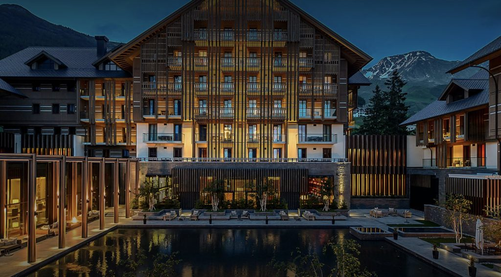 The Chedi Andermatt starts accepting cryptocurrency payments.