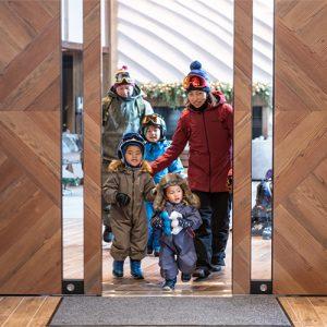 The Yu Kiroro Resort in Hokkaido is one of the best ski resorts for families in Japan