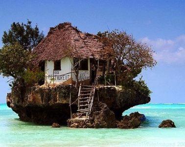 The famous fish restaurant of Zanzibar