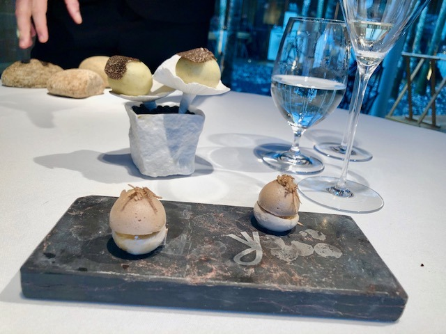 The winter menu at El Celler de Can Roca in Girona, Spain. One of the best restaurants in the world.