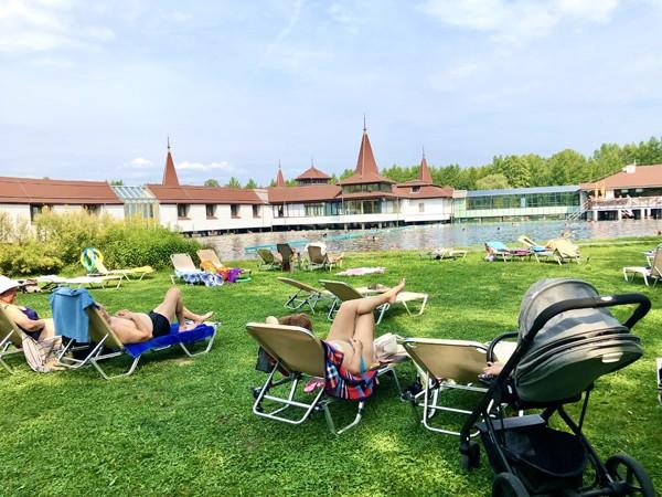 The healing power of Lake Heviz, the thermal lake near Lake Balaton in Hungary