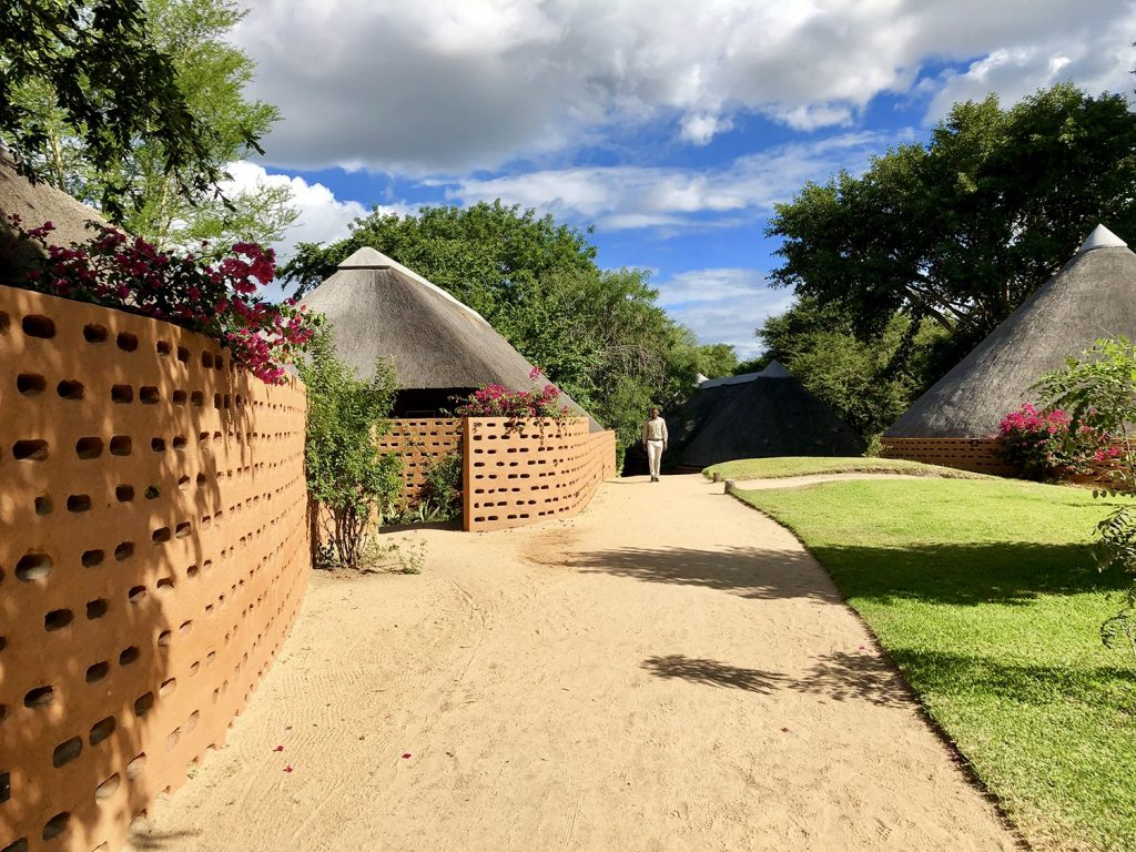 The new rooms at the MalaMala Game Reserve in the Sabi Samds of South Africa