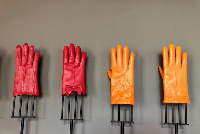 Buying 1861 gloves in the artistic city of Pécs in Hungary